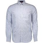 Pánská košile Gant 64664 - Azurová / 2XL