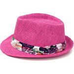 Art of Polo Dámský letní klobouk květiny - růžová cz16154.5 56 cm