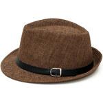 Art of Polo Letní klobouk - hnědý cz16120.7 56 cm