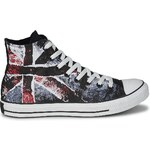 Converse Tenisky ALL STAR DESTROYED UK FLAG HI Converse
