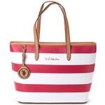 U.S. Polo Assn. kabelka červená