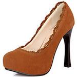 LightInTheBox Leatherette Women's Stiletto Heel Heels Pumps/Heels Shoes(More Colors)