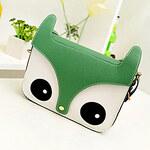 LightInTheBox Dazzale-Bag Cute Fox Print Green Bag