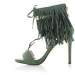 Sergio Todzi Tmavě zelené sandály Fareta