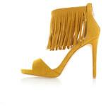 Sergio Todzi Žluté sandály Samet