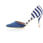 United Fashion Modré lodičky Dotika