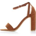 United Fashion Skořicové sandály Wanda