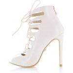 United Fashion Krémové sandály Angel