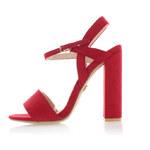 United Fashion Červené sandály Dena