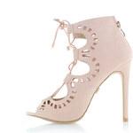 United Fashion Světle růžové sandály Eliana