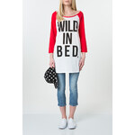 "Tally Weijl White & Red ""Bed"" Pyjama Top"