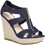 GUESS GUESS Laila Espadrille Wedge - denim