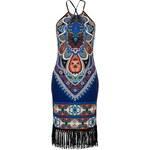 BODYFLIRT boutique Šaty s třásněmi bonprix
