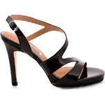 Černé sandály na podpatku MARIA MARE