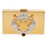 Emilio Pucci Metal Box Clutch