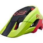 helma Fox Metah Graphics - Flo Yellow L/XL