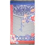 šátek Desigual 61W54B4/Rectangle Kimera - 5116/Azul Marine