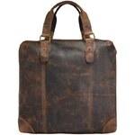 Pánská kožená taška Greenland 2510, hnědá