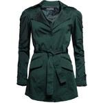 Glamorous by Glam Podzimní kabát lahvově zelený
