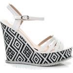 Kiss Angel Dámské designované sandály bílé