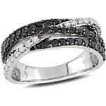 KLENOTA Módní diamantový prsten