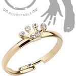 EU Dívčí prsten - korunka