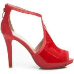 Style Shoes Červené sandálky