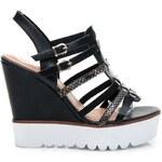 VICES Stylové sandály FLAT WHITE