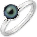 KLENOTA Perlový prsten ze stříbra