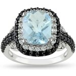 KLENOTA Drahokamový prsten ze stříbra