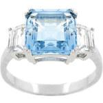 KLENOTA Stříbrný prsten s topazem