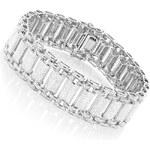 KLENOTA Pánský diamantový náramek ze stříbra