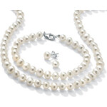 KLENOTA Perlový set ze sladkovodních perel