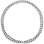 KLENOTA Nekonečný náhrdelník z onyxů a perel