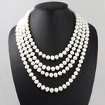 KLENOTA Nekonečný perlový náhrdelník