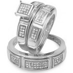 KLENOTA Svatební sada prstenů