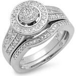 KLENOTA Stříbrná svatební souprava