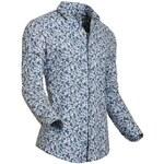 Luxusní košile StyleOver modrý vzor