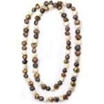 KLENOTA Náhrdelník z barevných perel