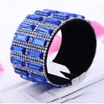Lesara Armband mit Kristallen - Blau