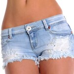 Trendy džínové kraťasy