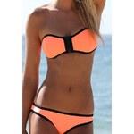 Damson Dvoudílné plavky - oranžové