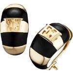 Escada Luxusní náušnice Black Meets Gold E64072