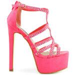 Belle Women Exkluzivní sandály s korálky