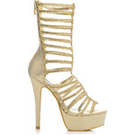Belle Women Efektní sandály na jehlovém podpatku