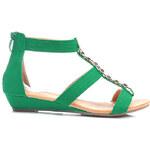 SWEET SHOES Sandále s řetízkem