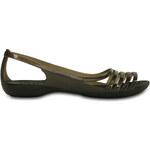 Crocs Isabella Huarache Flat Black Černá W9 39-40