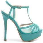 VICES Dámské páskové sandále modré
