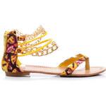 SERGIO TODZI Žluté sandále