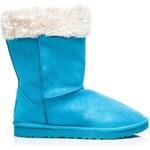 Torna Sněhule s kožíškem modré